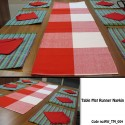 Table Mat Runner Napkin