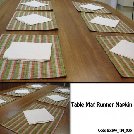 Table Mat Runner Napkin